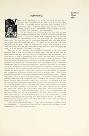 Page 15, 1904 Edition, Stanford University - Quad Yearbook (Palo Alto, CA) online yearbook collection