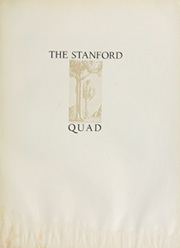 Page 7, 1932 Edition, Stanford University - Quad Yearbook (Palo Alto, CA) online yearbook collection