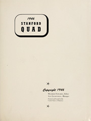 Page 5, 1946 Edition, Stanford University - Quad Yearbook (Palo Alto, CA) online yearbook collection