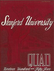 Stanford University - Quad Yearbook (Palo Alto, CA) online yearbook collection, 1955 Edition, Page 1