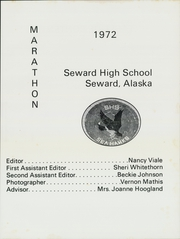 Page 5, 1972 Edition, Seward High School - Marathon Yearbook (Seward, AK) online yearbook collection