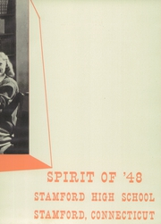 Page 7, 1948 Edition, Stamford High School - Flashback Yearbook (Stamford, CT) online yearbook collection
