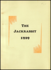 Page 5, 1929 Edition, Bowie High School - Jackrabbit Yearbook (Bowie, TX) online yearbook collection