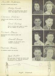 Page 17, 1946 Edition, Bowie High School - Jackrabbit Yearbook (Bowie, TX) online yearbook collection