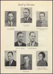 Page 14, 1955 Edition, Bowie High School - Jackrabbit Yearbook (Bowie, TX) online yearbook collection