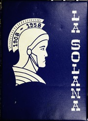 1958 Edition, Central Union High School - La Solana Yearbook (El Centro, CA)