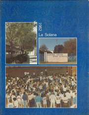 1982 Edition, Central Union High School - La Solana Yearbook (El Centro, CA)