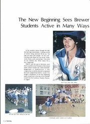 Page 6, 1981 Edition, C F Brewer High School - Bear Tracks Yearbook (White Settlement, TX) online yearbook collection