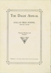Page 5, 1914 Edition, N R Crozier Technical High School - Wolf Pack Yearbook (Dallas, TX) online yearbook collection