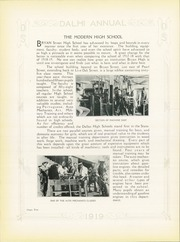 Page 16, 1919 Edition, N R Crozier Technical High School - Wolf Pack Yearbook (Dallas, TX) online yearbook collection