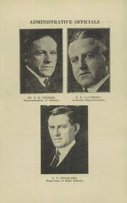 Page 4, 1936 Edition, N R Crozier Technical High School - Wolf Pack Yearbook (Dallas, TX) online yearbook collection