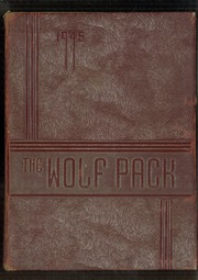 1945 Edition, N R Crozier Technical High School - Wolf Pack Yearbook (Dallas, TX)