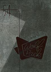 N R Crozier Technical High School - Wolf Pack Yearbook (Dallas, TX) online yearbook collection, 1954 Edition, Page 1