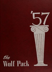 N R Crozier Technical High School - Wolf Pack Yearbook (Dallas, TX) online yearbook collection, 1957 Edition, Page 1