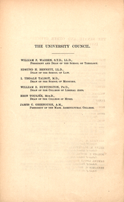 Page 12, 1886 Edition, Boston University - HUB Yearbook (Boston, MA) online yearbook collection