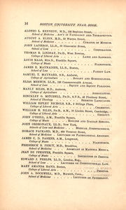 Page 16, 1886 Edition, Boston University - HUB Yearbook (Boston, MA) online yearbook collection