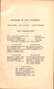 Page 9, 1886 Edition, Boston University - HUB Yearbook (Boston, MA) online yearbook collection