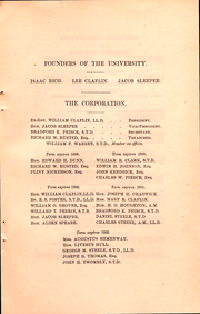 Page 11, 1887 Edition, Boston University - HUB Yearbook (Boston, MA) online yearbook collection