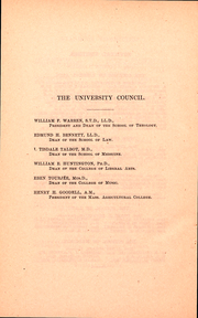 Page 14, 1887 Edition, Boston University - HUB Yearbook (Boston, MA) online yearbook collection