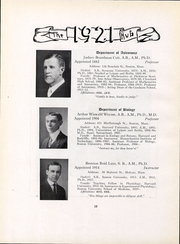Page 20, 1921 Edition, Boston University - HUB Yearbook (Boston, MA) online yearbook collection