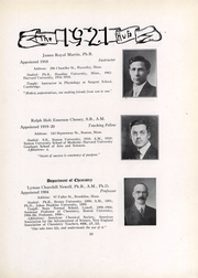 Page 21, 1921 Edition, Boston University - HUB Yearbook (Boston, MA) online yearbook collection