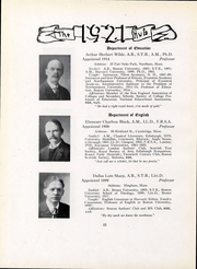 Page 24, 1921 Edition, Boston University - HUB Yearbook (Boston, MA) online yearbook collection