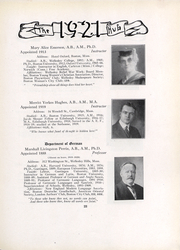 Page 25, 1921 Edition, Boston University - HUB Yearbook (Boston, MA) online yearbook collection
