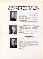 Page 26, 1921 Edition, Boston University - HUB Yearbook (Boston, MA) online yearbook collection