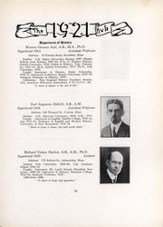 Page 27, 1921 Edition, Boston University - HUB Yearbook (Boston, MA) online yearbook collection