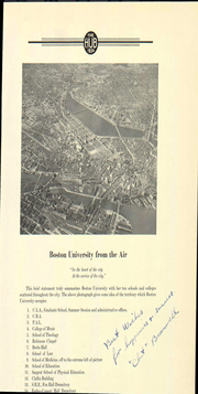 Page 27, 1934 Edition, Boston University - HUB Yearbook (Boston, MA) online yearbook collection