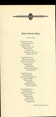Page 28, 1934 Edition, Boston University - HUB Yearbook (Boston, MA) online yearbook collection