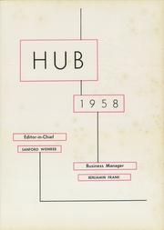 Page 5, 1958 Edition, Boston University - HUB Yearbook (Boston, MA) online yearbook collection