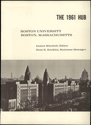 Page 7, 1961 Edition, Boston University - HUB Yearbook (Boston, MA) online yearbook collection