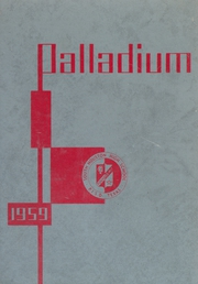 1959 Edition, South Houston High School - Palladium Yearbook (South Houston, TX)