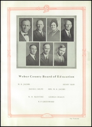 Weber County High School - Golden Spike Yearbook (Ogden, UT) online yearbook collection, 1930 Edition, Page 23