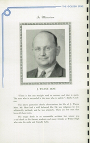 Page 12, 1939 Edition, Weber County High School - Golden Spike Yearbook (Ogden, UT) online yearbook collection