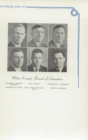 Page 15, 1939 Edition, Weber County High School - Golden Spike Yearbook (Ogden, UT) online yearbook collection