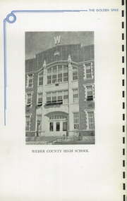Page 6, 1939 Edition, Weber County High School - Golden Spike Yearbook (Ogden, UT) online yearbook collection