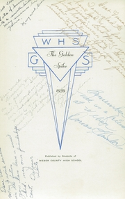 Page 7, 1939 Edition, Weber County High School - Golden Spike Yearbook (Ogden, UT) online yearbook collection