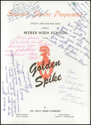 Page 5, 1949 Edition, Weber County High School - Golden Spike Yearbook (Ogden, UT) online yearbook collection
