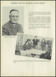 Page 12, 1953 Edition, Weber County High School - Golden Spike Yearbook (Ogden, UT) online yearbook collection