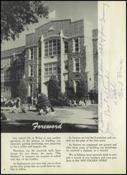 Page 8, 1953 Edition, Weber County High School - Golden Spike Yearbook (Ogden, UT) online yearbook collection