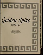 Page 5, 1965 Edition, Weber County High School - Golden Spike Yearbook (Ogden, UT) online yearbook collection