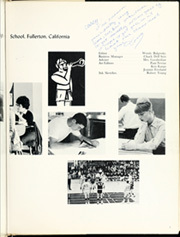 Page 7, 1965 Edition, Sunny Hills High School - Helios Yearbook (Fullerton, CA) online yearbook collection