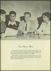 Page 16, 1951 Edition, Western High School - Beacon Yearbook (Detroit, MI) online yearbook collection