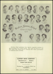 Page 17, 1951 Edition, Western High School - Beacon Yearbook (Detroit, MI) online yearbook collection
