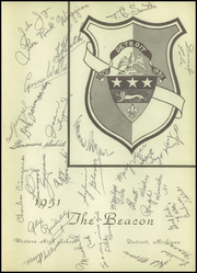 Page 3, 1951 Edition, Western High School - Beacon Yearbook (Detroit, MI) online yearbook collection