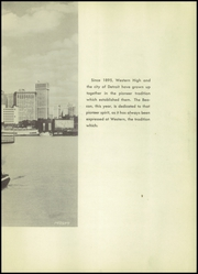 Page 5, 1951 Edition, Western High School - Beacon Yearbook (Detroit, MI) online yearbook collection
