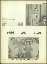 Page 12, 1955 Edition, Western High School - Beacon Yearbook (Detroit, MI) online yearbook collection