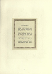 Page 13, 1923 Edition, Oregon State University - Beaver Yearbook (Corvallis, OR) online yearbook collection